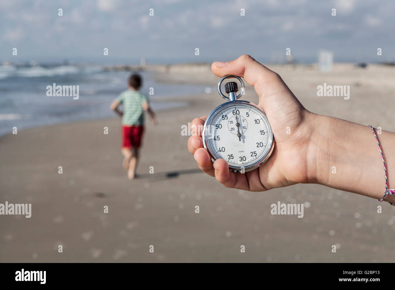 Running Out Of Time - Stock Image