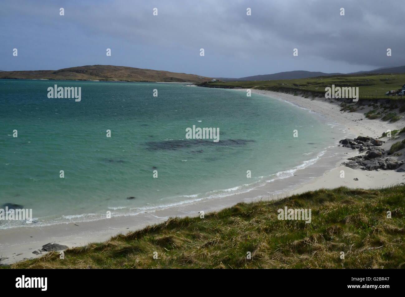 Isle of Barra, Outer Hebrides, Scotland - Stock Image