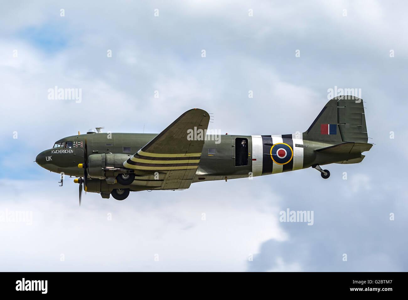 Douglas C-47 Dakota transport aircraft from the Royal Air