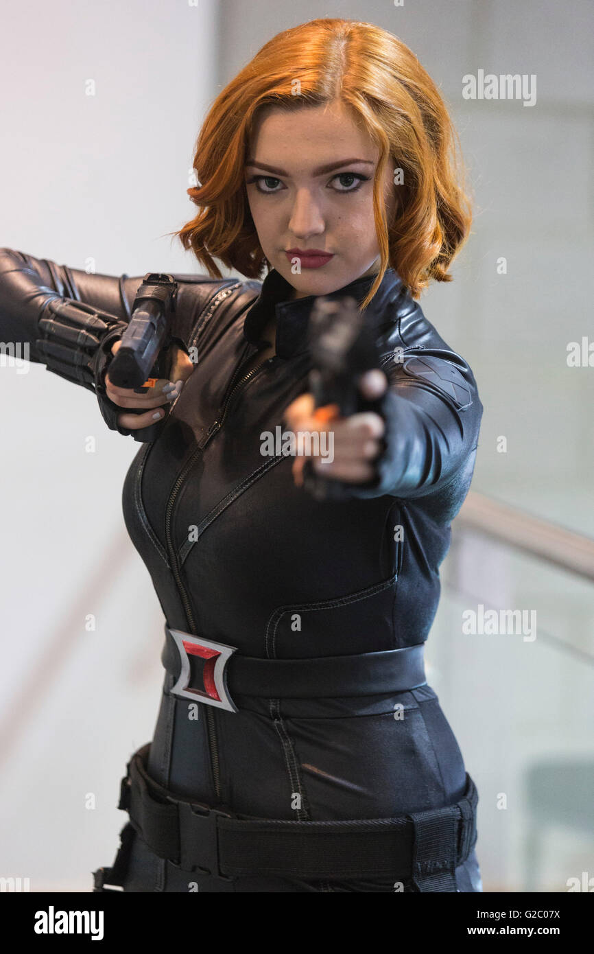 Black Widow Comic High Resolution Stock Photography And Images Alamy