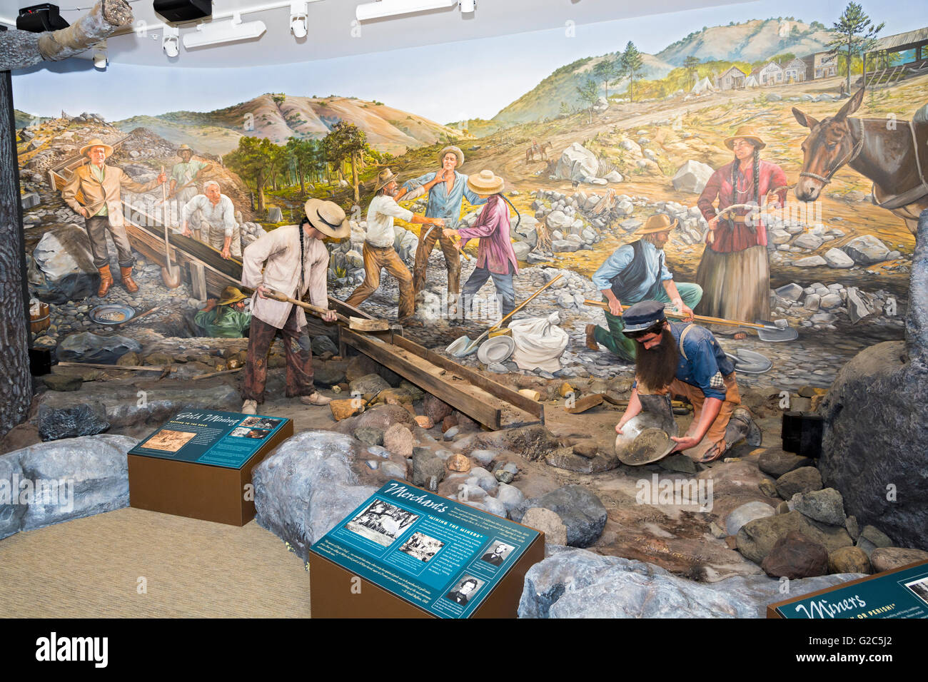 Gold Rush Trail Stock Photos & Gold Rush Trail Stock Images