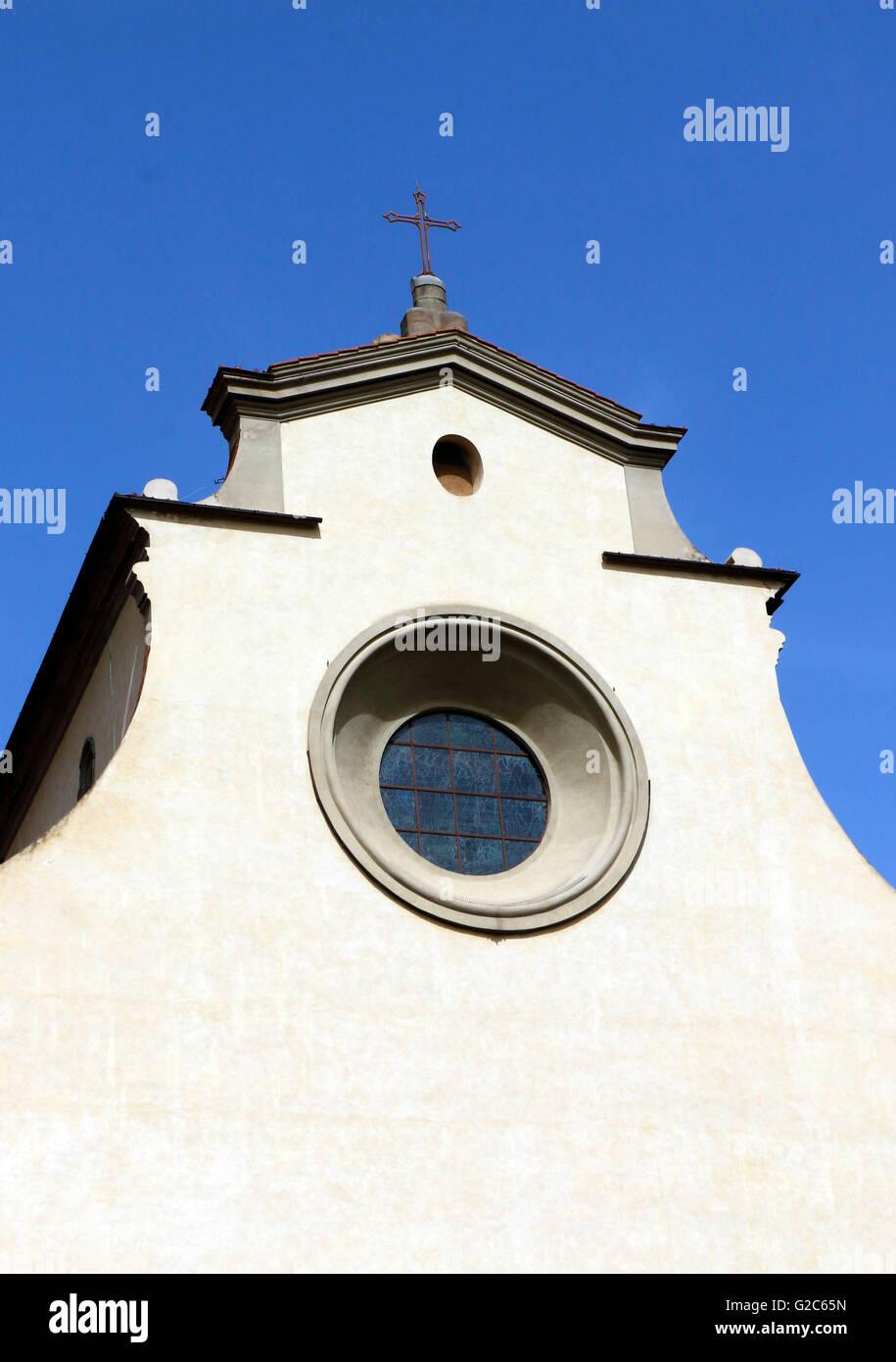 Chiesa di Santo Spirito,Florence ,Italy - Stock Image