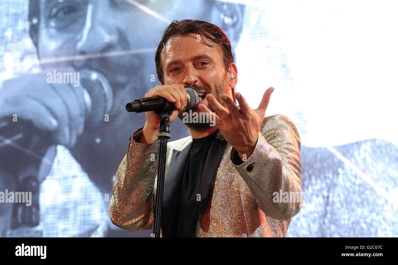 CESARE CREMONINI ,is a songwriter , musician and actor Italian Stock Photo