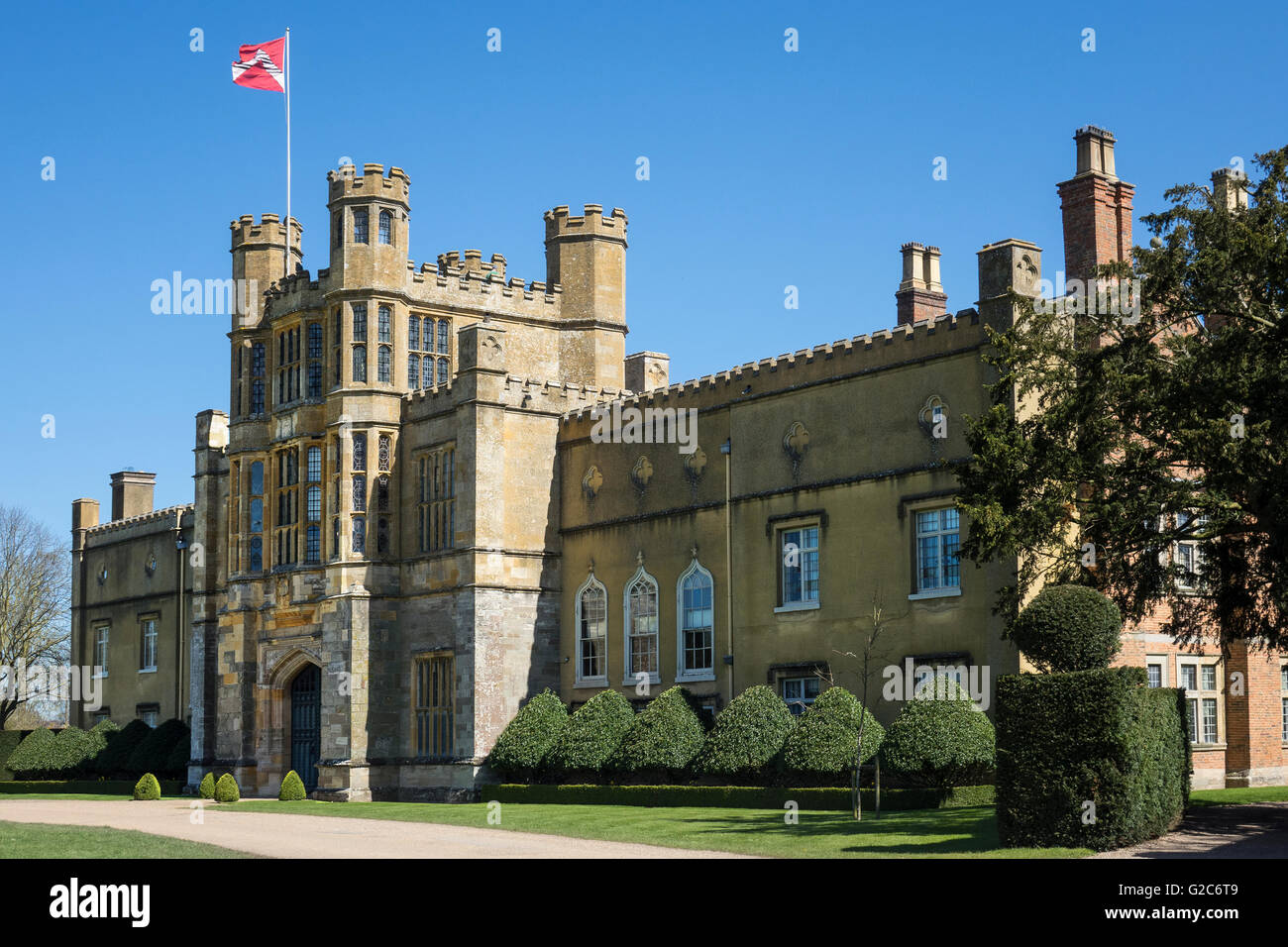 England, Warwickshire, Alcester, Coughton Court - Stock Image