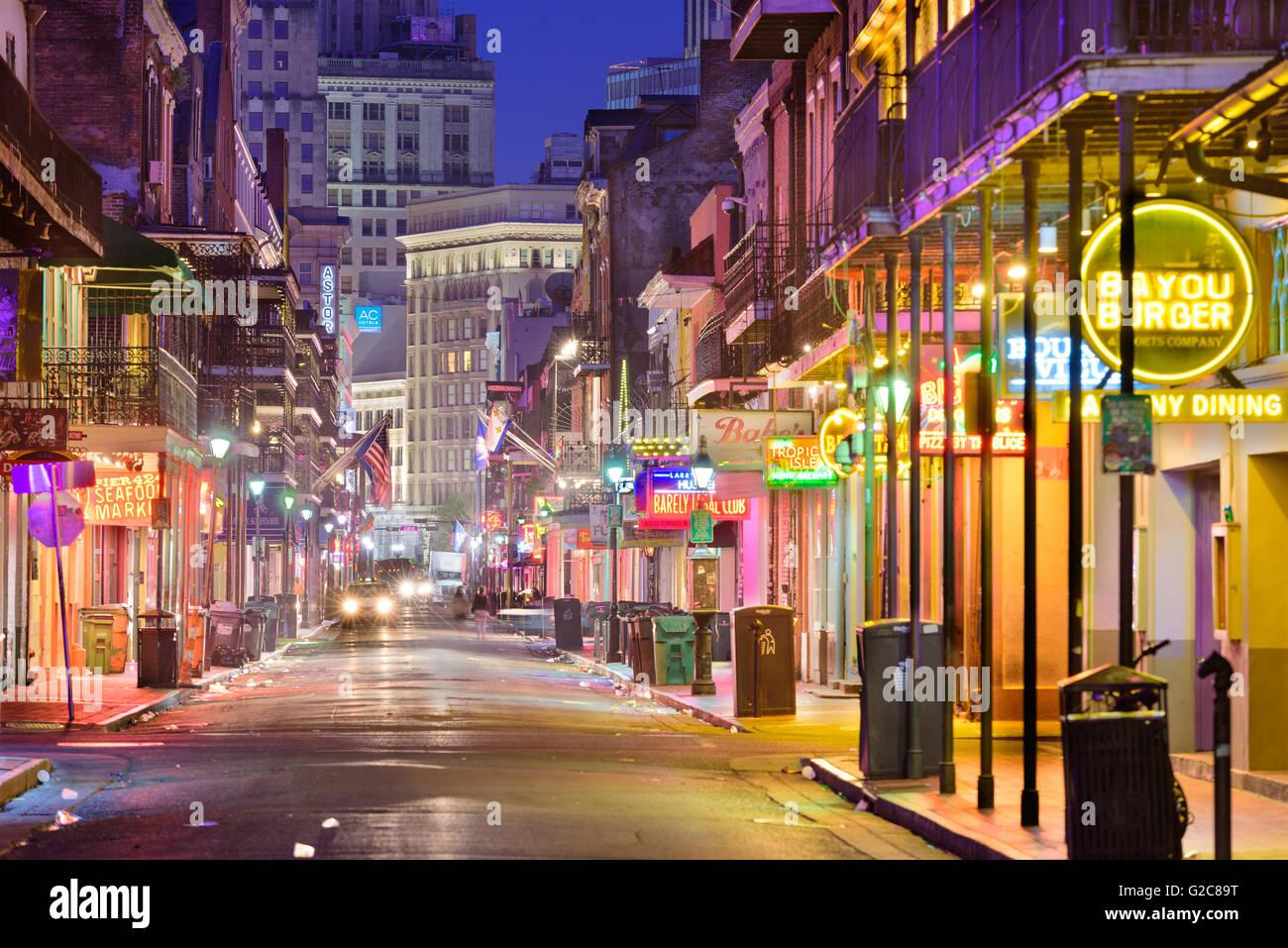 Bourbon Street Restaurants New Orleans La