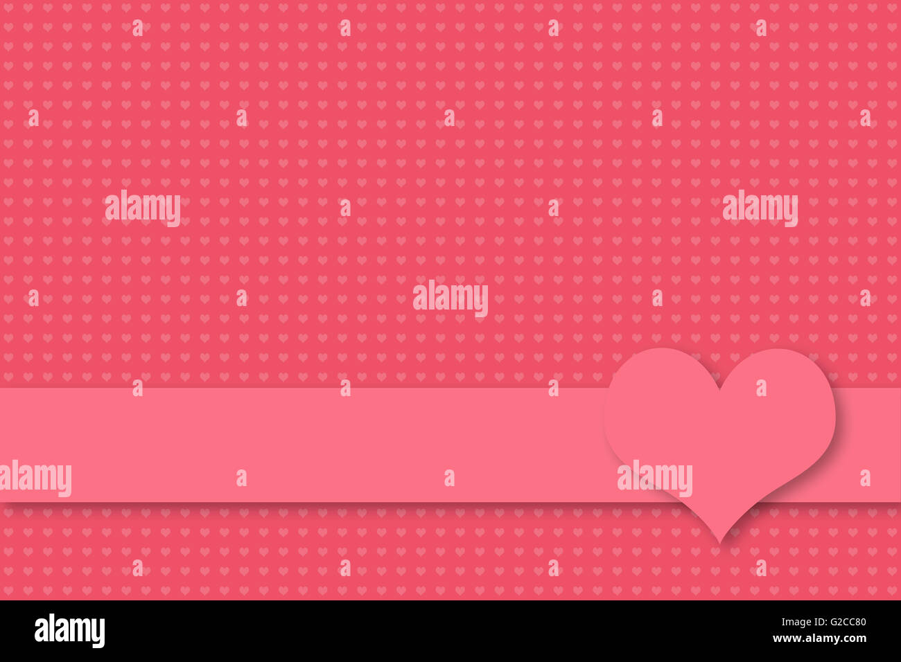Wedding greetings stock photos wedding greetings stock images alamy pink background with seamless heart texture for valentine and wedding greetings banner with empty text m4hsunfo