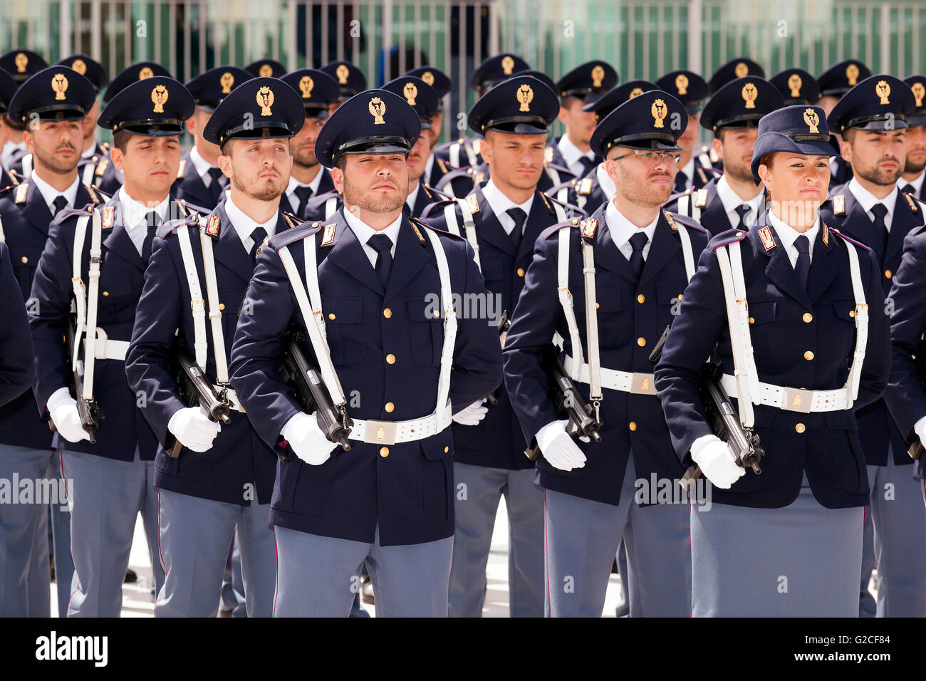 Rome Police Department >> Rome Italy May 25 2016 Deployment Of Italian Police