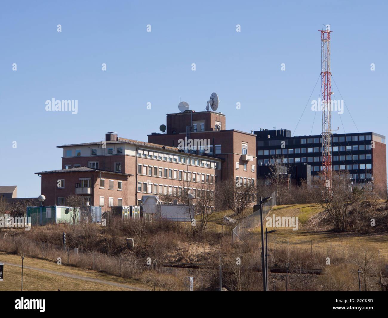 Norwegian Meteorological Institute MET headquarters in Blindern Oslo Norway - Stock Image