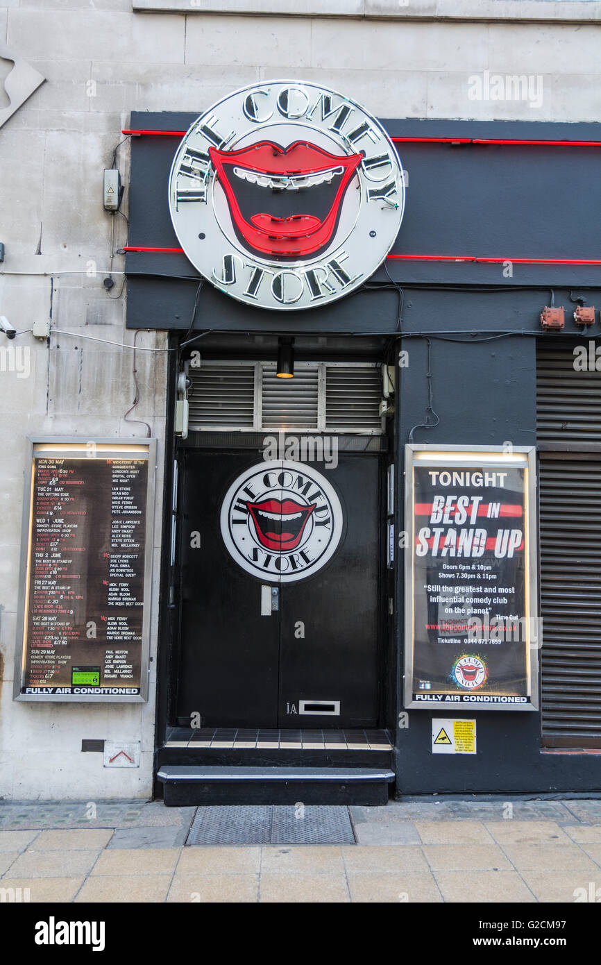 The Comedy Store in London's West End, UK Stock Photo