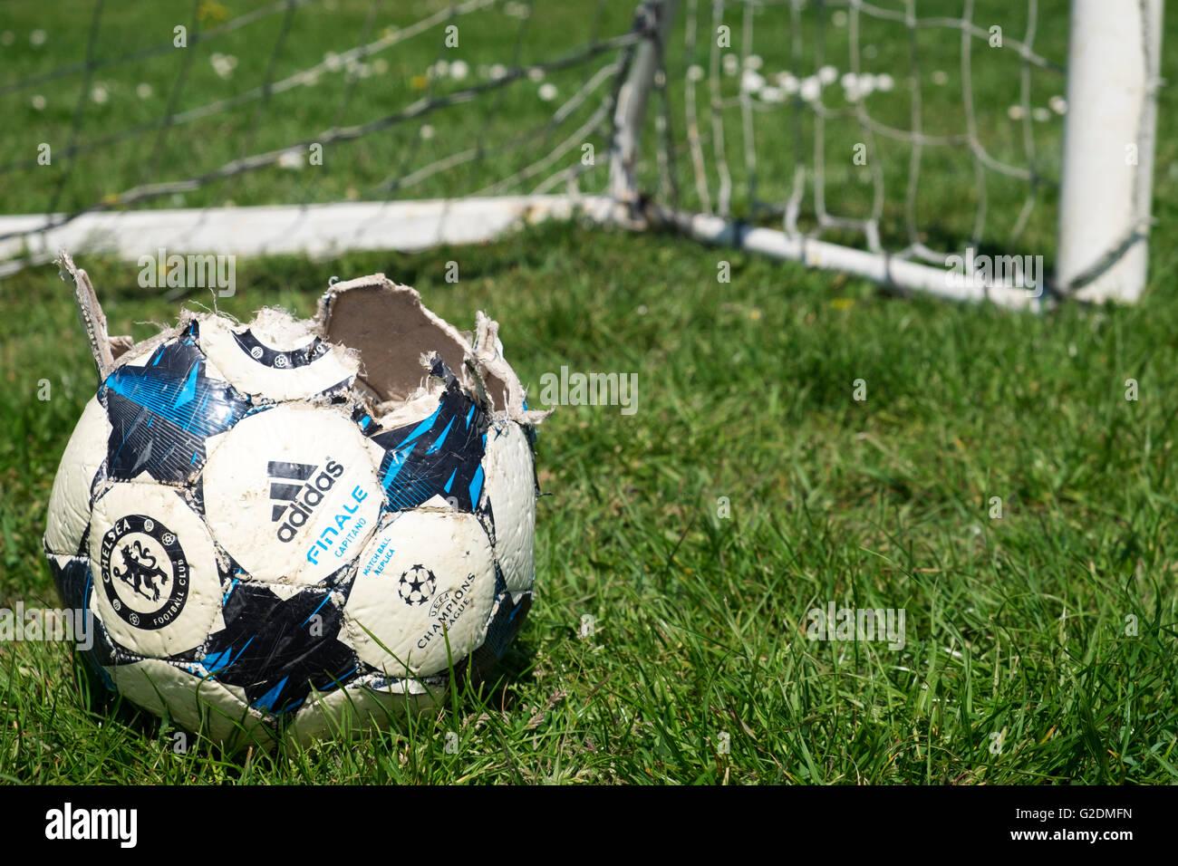 Adidas Finale Capitano football - Stock Image