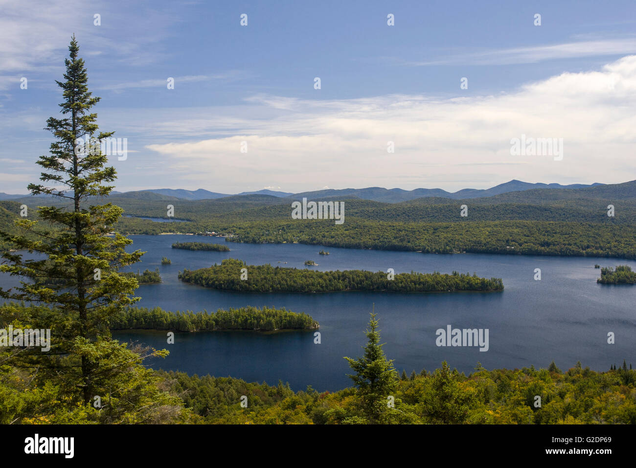 Blue Mountain Lake,Bridge,Steamboat,Adirondack Mountain Photo