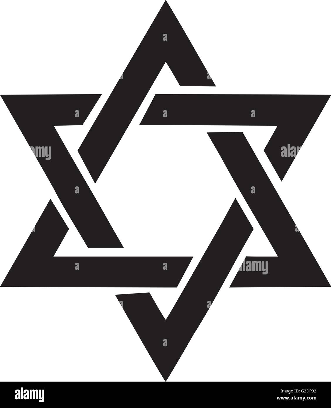 Star of david - Stock Vector
