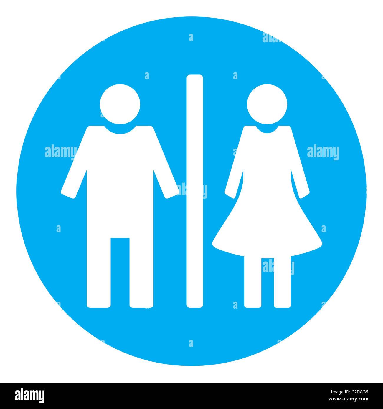 icon toilet flat bathroom and toilet sign wc and toilet icon stock