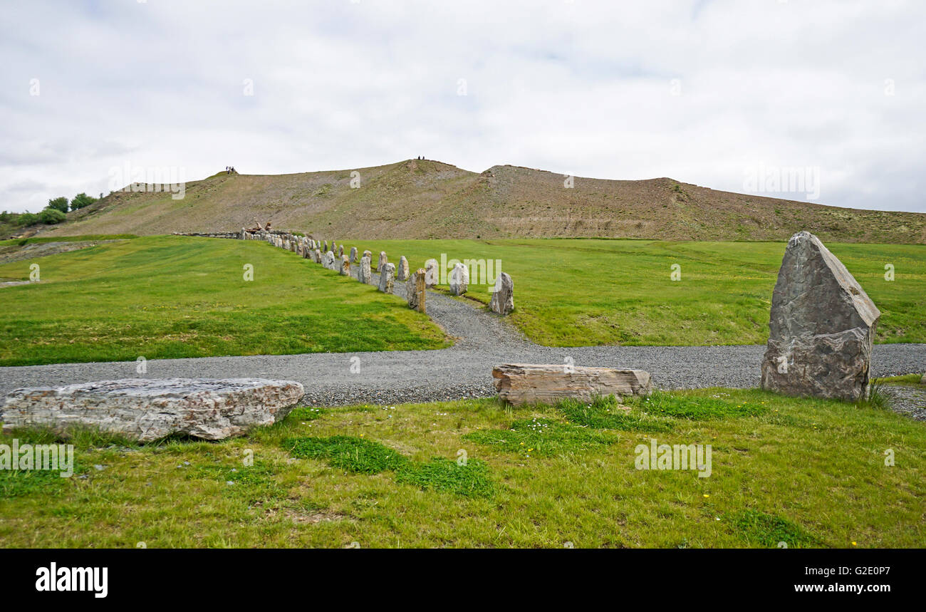 Crawick Multiverse near Sanquhar in Upper Nithsdale Scotland - Stock Image