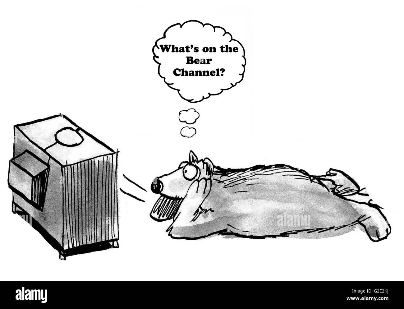 приготовить медвежонок смотрит телевизор картинки потолки можно смело