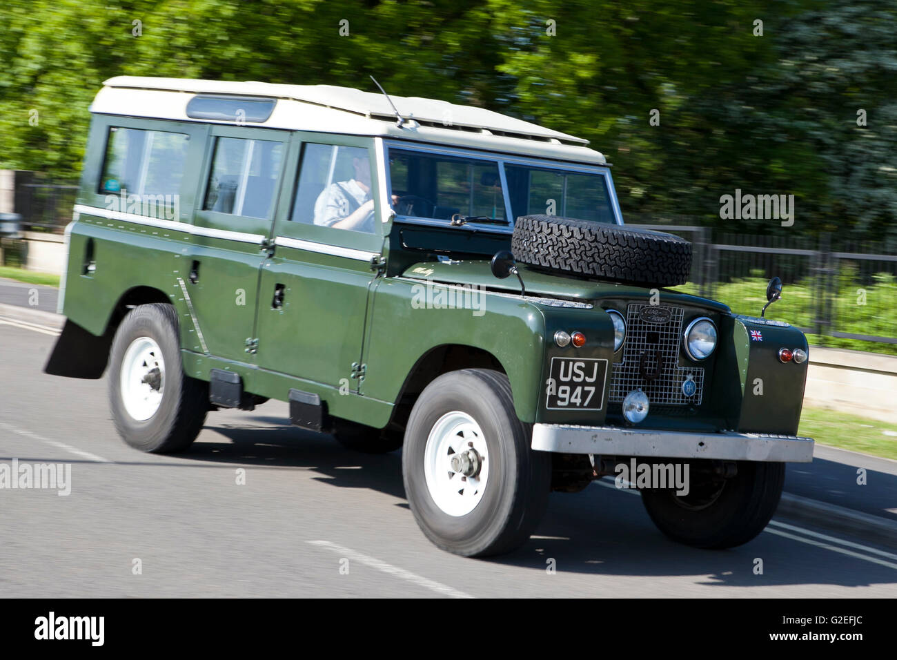 classic land rover stock photos classic land rover stock images alamy. Black Bedroom Furniture Sets. Home Design Ideas