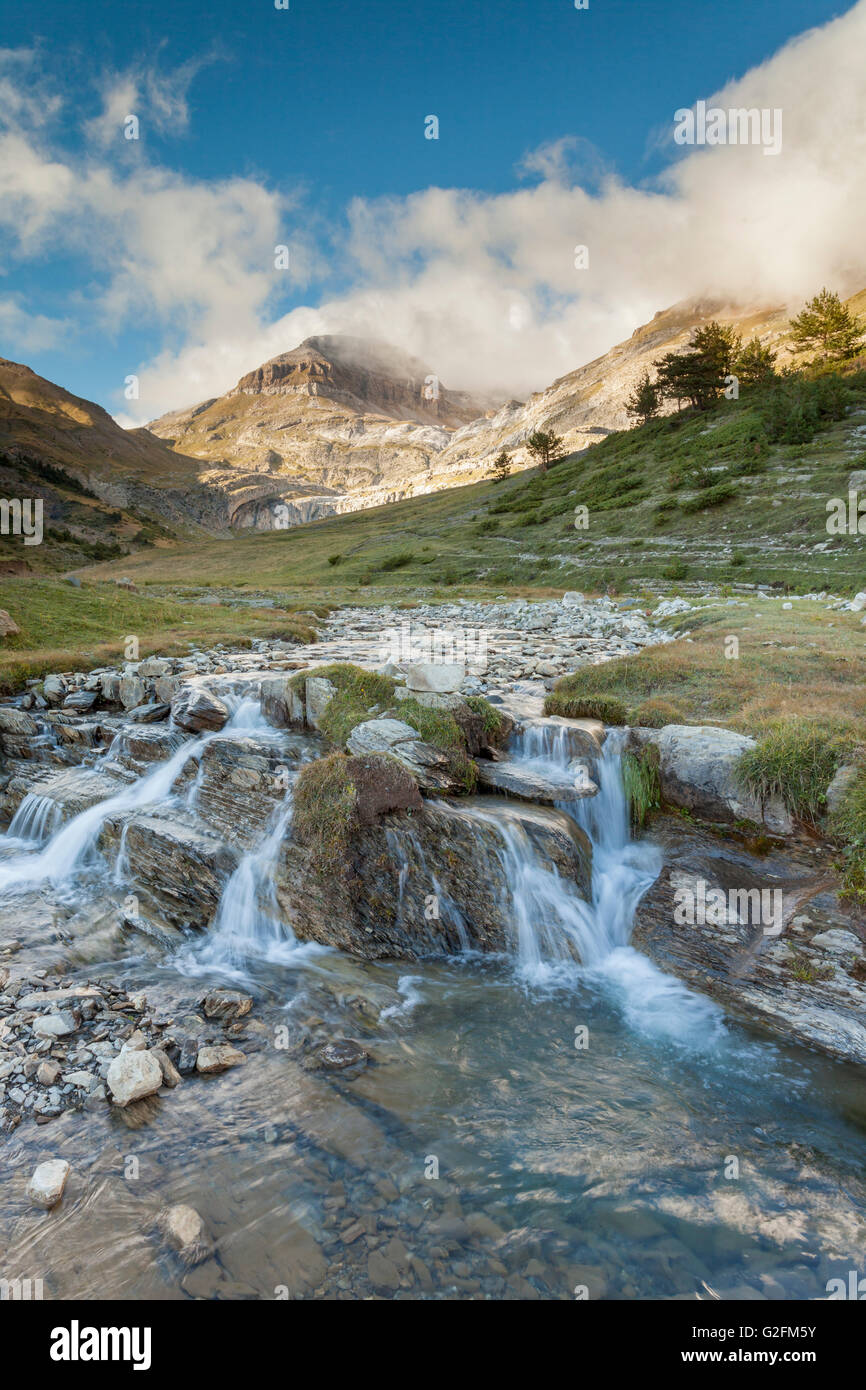 Aisa valley in the Pyrenees mountains, Huesca, Aragón, Spain. Stock Photo