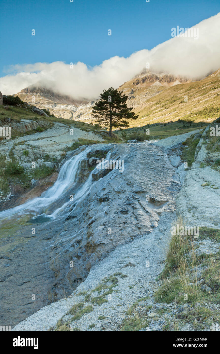 Aisa valley in the Pyrenees mountains, Huesca, Aragón, Spain. - Stock Image