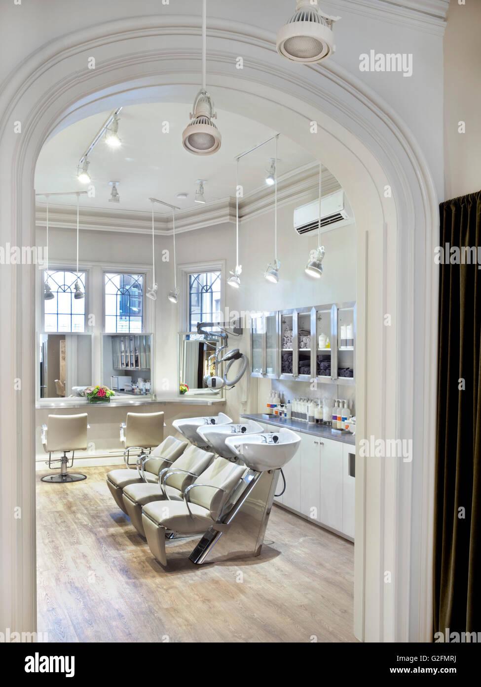 Beauty salon - Stock Image