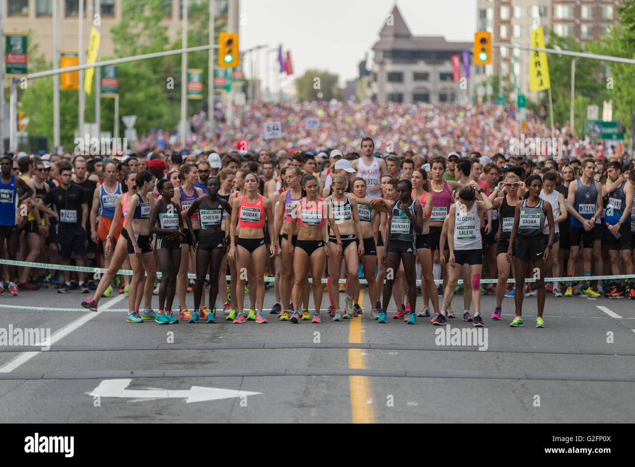 Ottawa Race Weekend - Stock Image