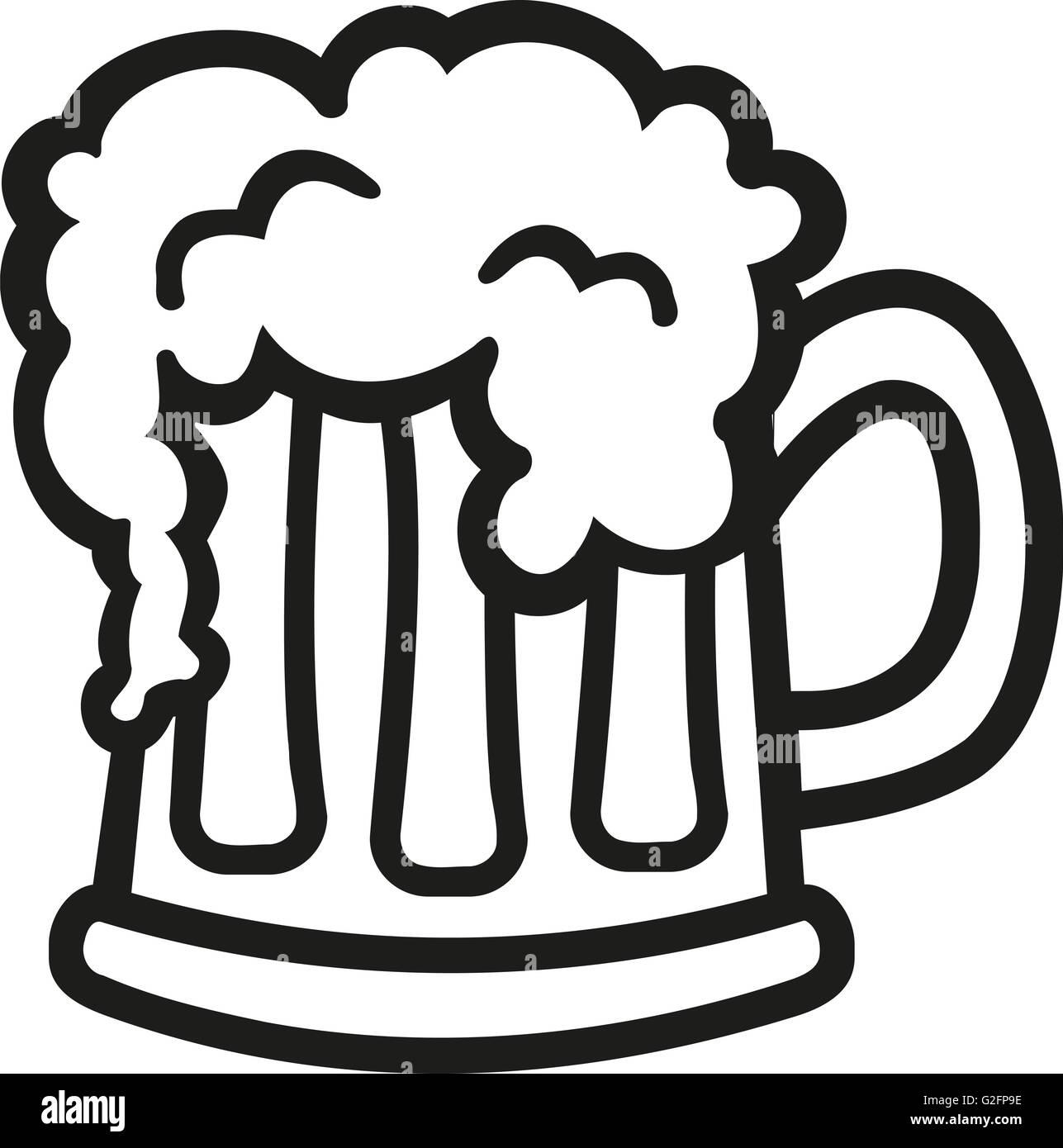 Cartoon Beer Mug High Resolution Stock Photography And Images Alamy