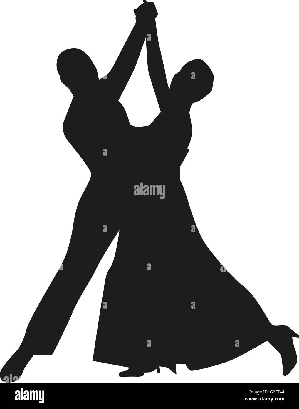 Eleganz couple dancing - Stock Image