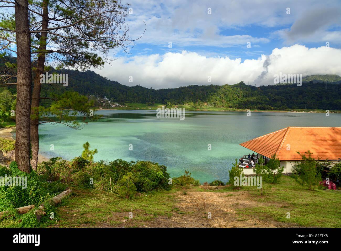 Linau lake in Tomohon. North Sulawesi. Indonesia - Stock Image