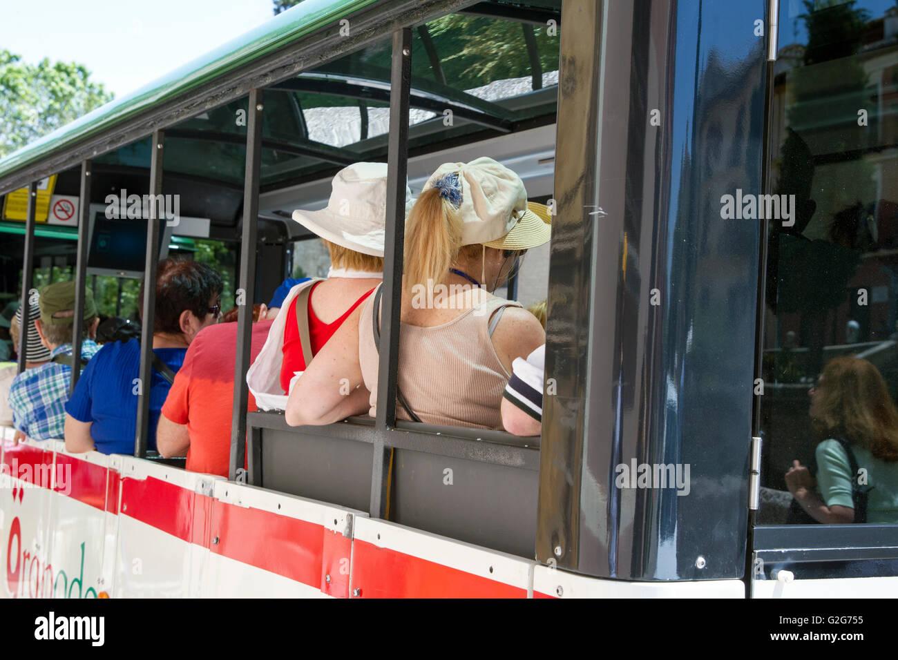 Granada city bus tours - Stock Image
