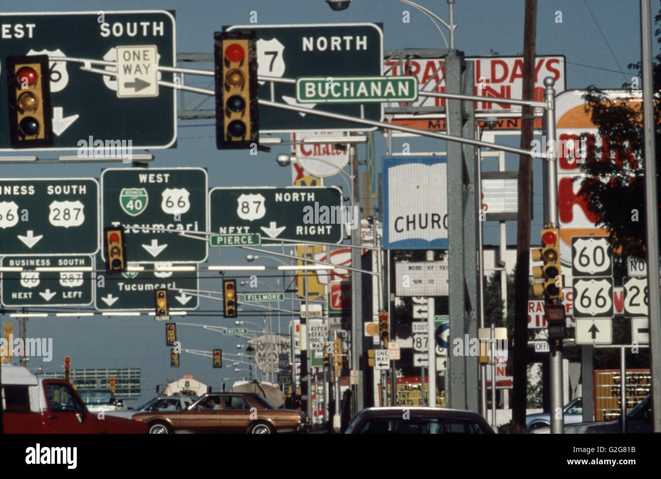 Interstate 40 Traffic Stock Photos & Interstate 40 Traffic