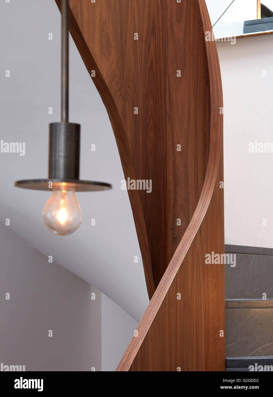 Cranley Stock Photos Images Alamy Deakins Lighting Diagram Detail Of Central Staircase Private Residence London United Kingdom Architect
