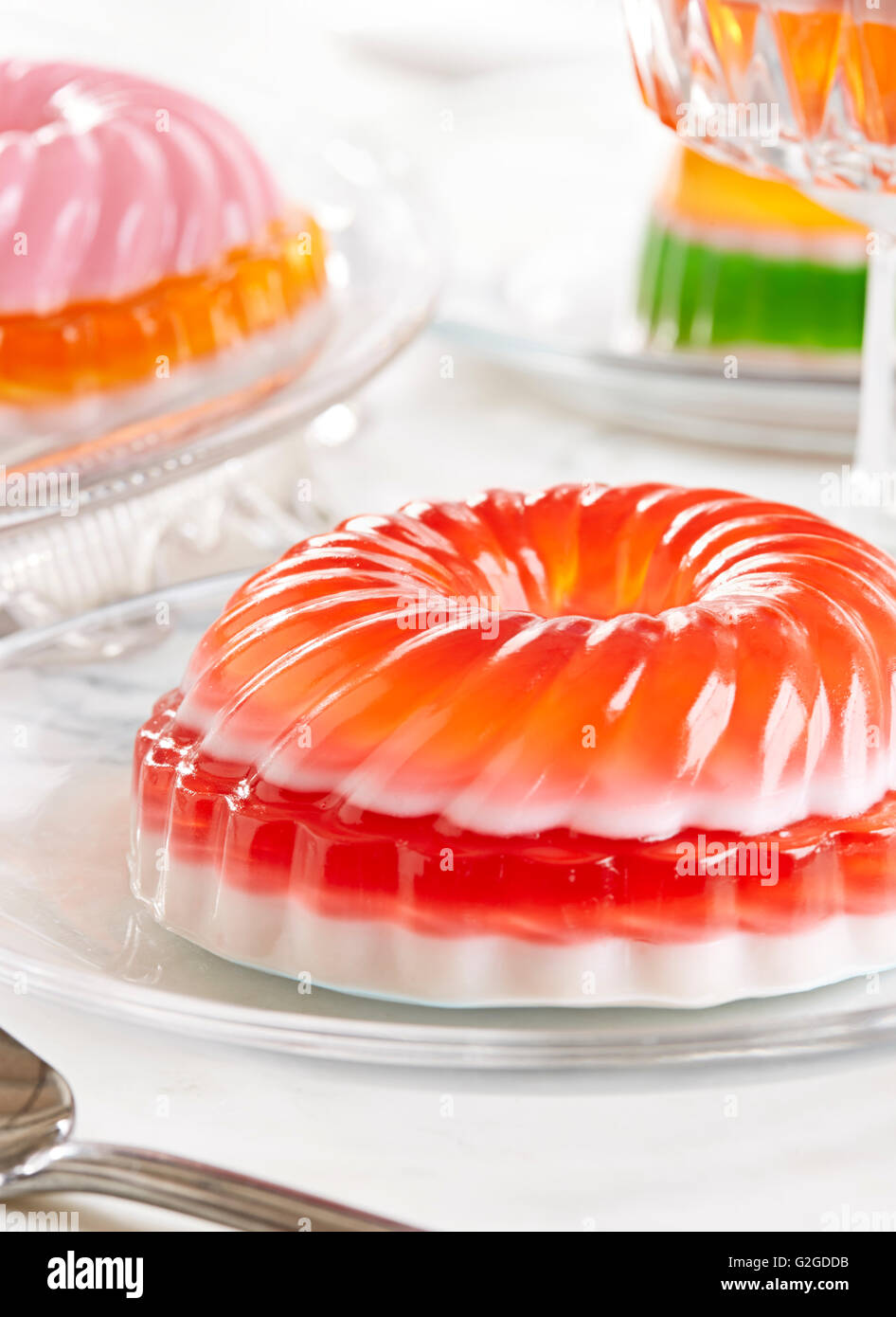 Jello Mold Party - Stock Image