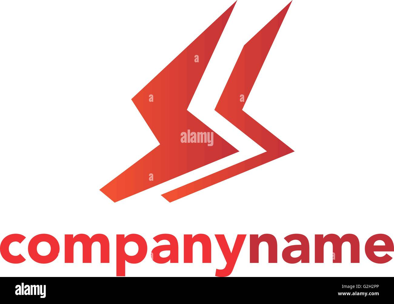 Lighting Bolt Flash Logo Design Vector Element Fast Quick Rapid Icon Concept Symbol Illustration
