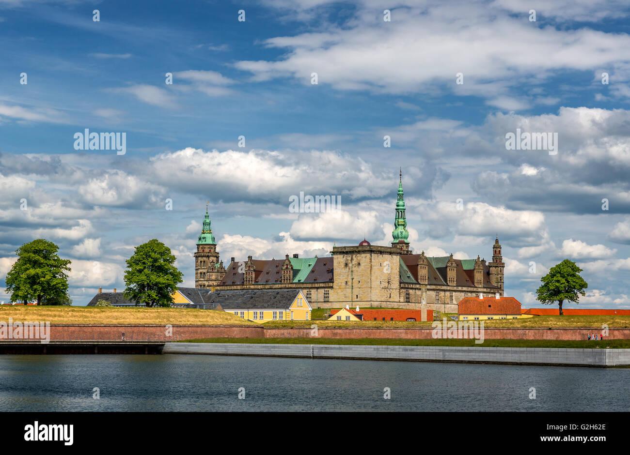 Kronborg Castle, Elsinore Denmark Stock Photo