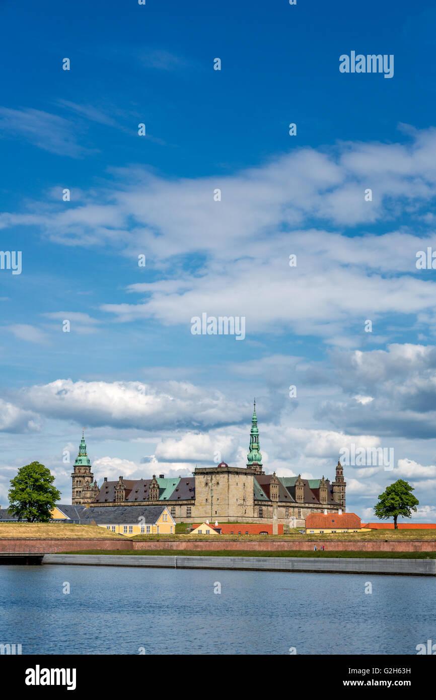 Kronborg Castle, Elsinore, Denmark - Stock Image