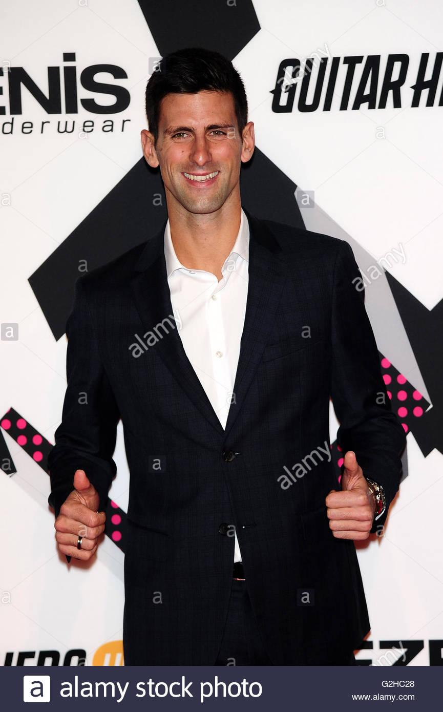 Novak Djokovic roma 10-10-2015 - Stock Image