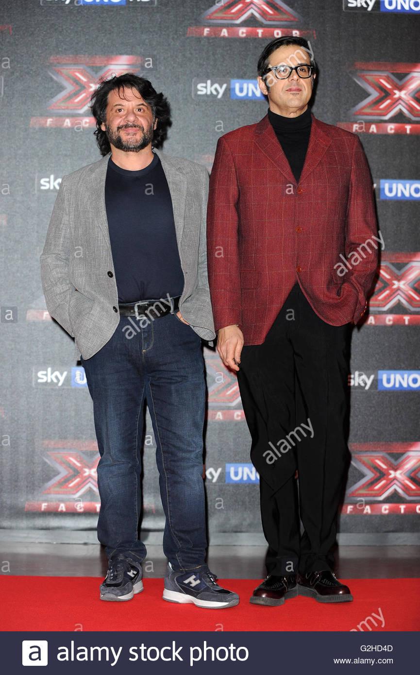 Lillo e Greg milano 15-12-2015 - Stock Image