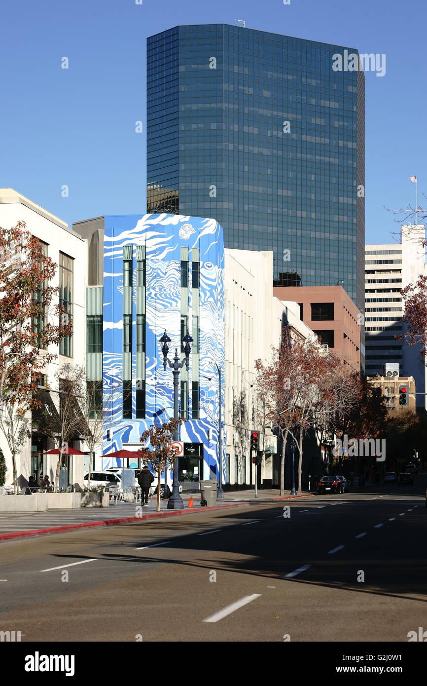 Rethink exhibition San Diego - Stock Image