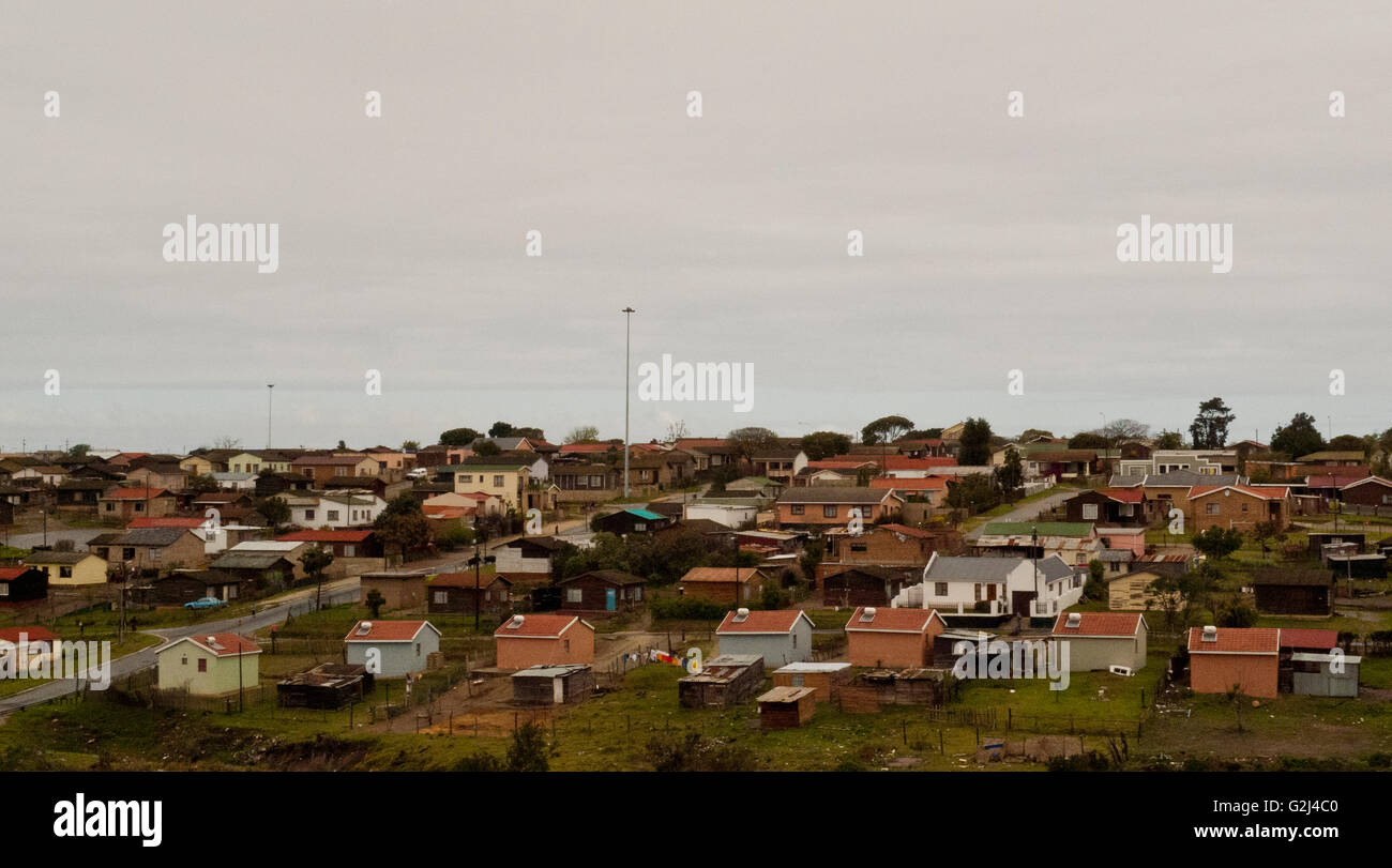 Suburban Housing Development, Groenvlei, South Africa - Stock Image