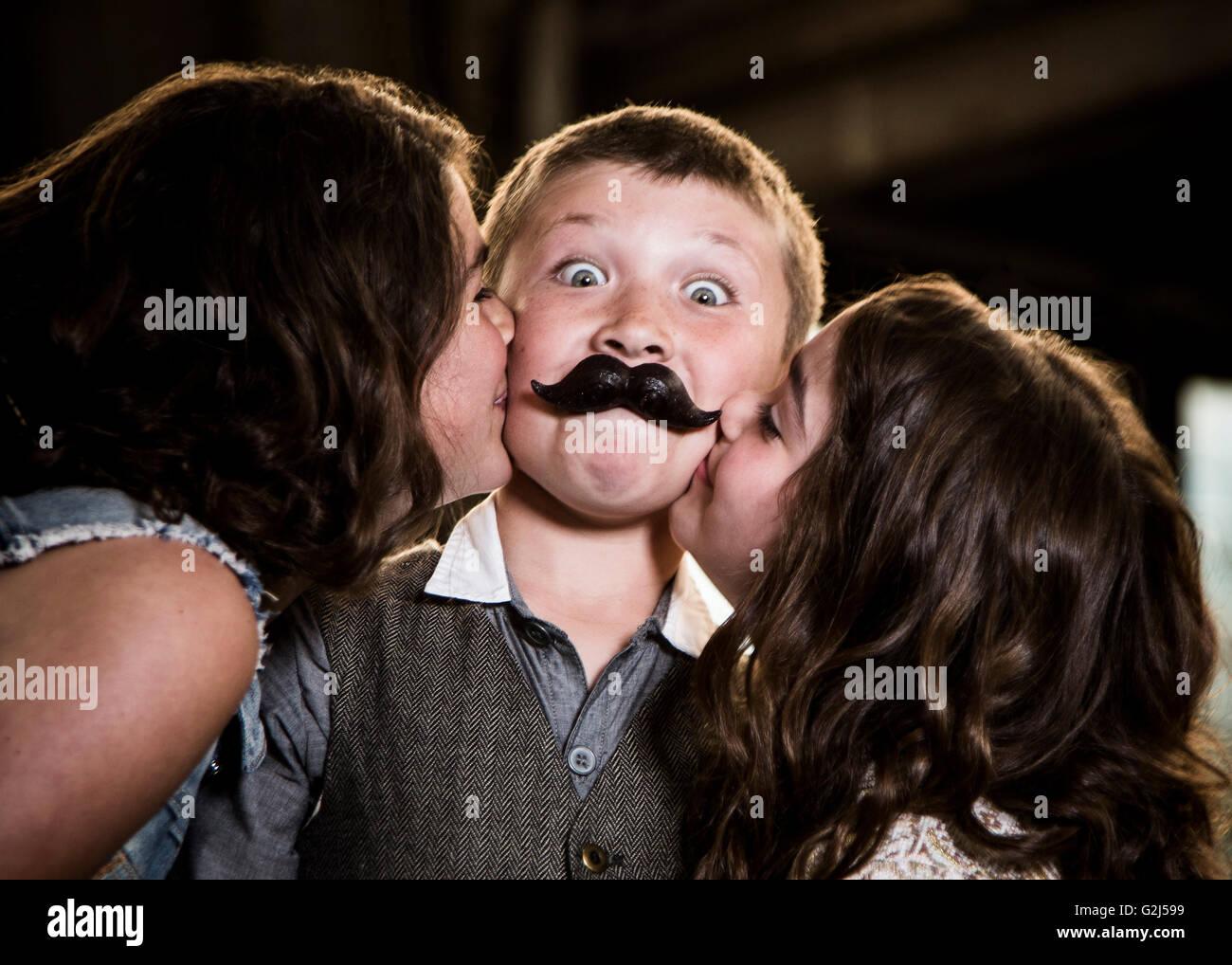 Children Kissing Stock Photos  Children Kissing Stock Images - Alamy-4592