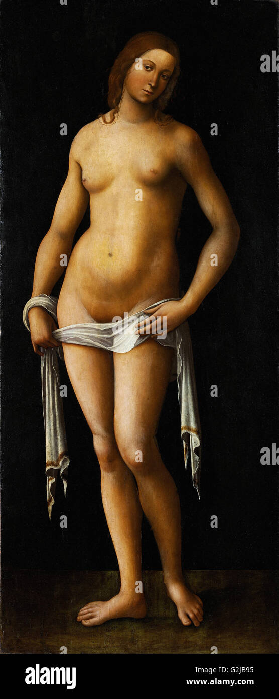 Lorenzo Costa - Venus  - Museum of Fine Arts, Budapest - Stock Image