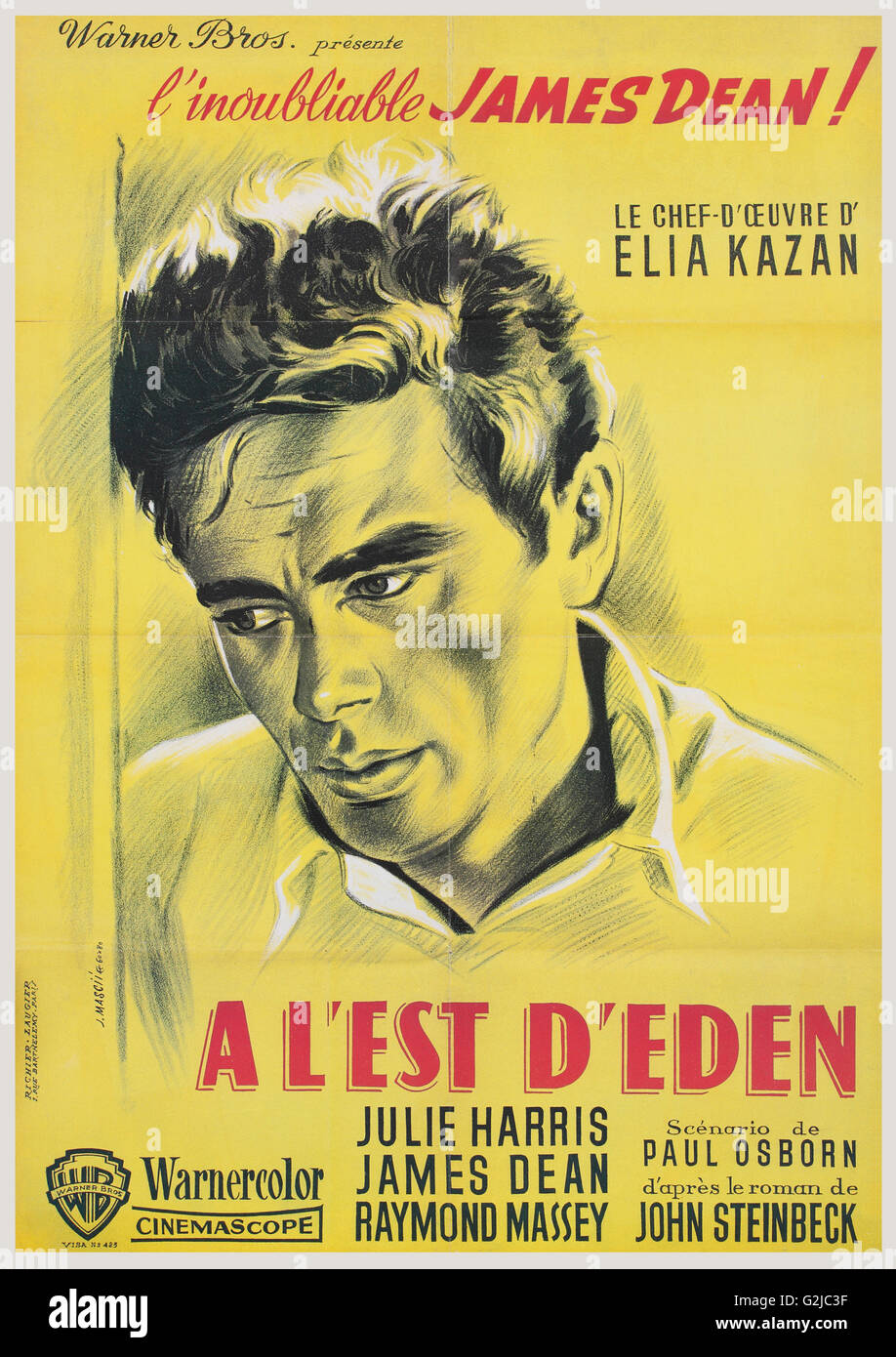 French Film Poster Stock Photos French Film Poster Stock