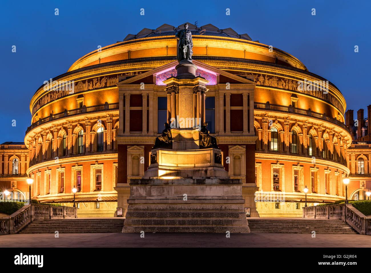 Royal Albert Hall in Kensington, London, United Kingdom - Stock Image