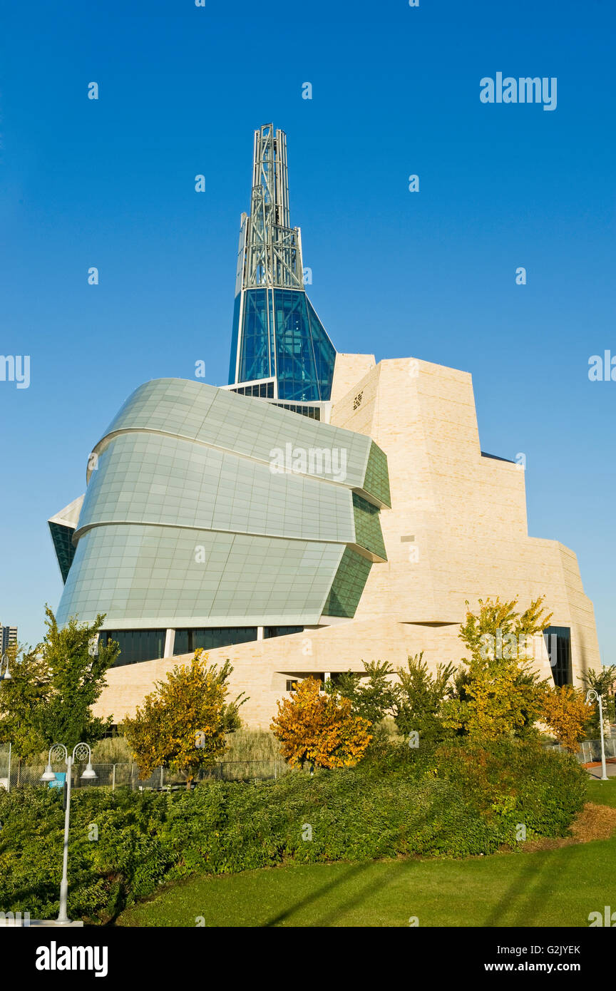 Canadian Museum for Human Rights, Winnipeg,  Manitoba, Canada - Stock Image