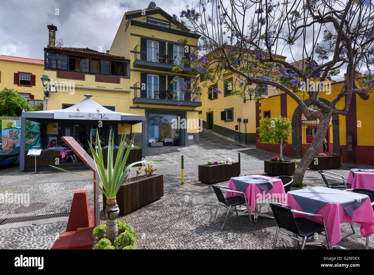 Funchal old town - Stock Image