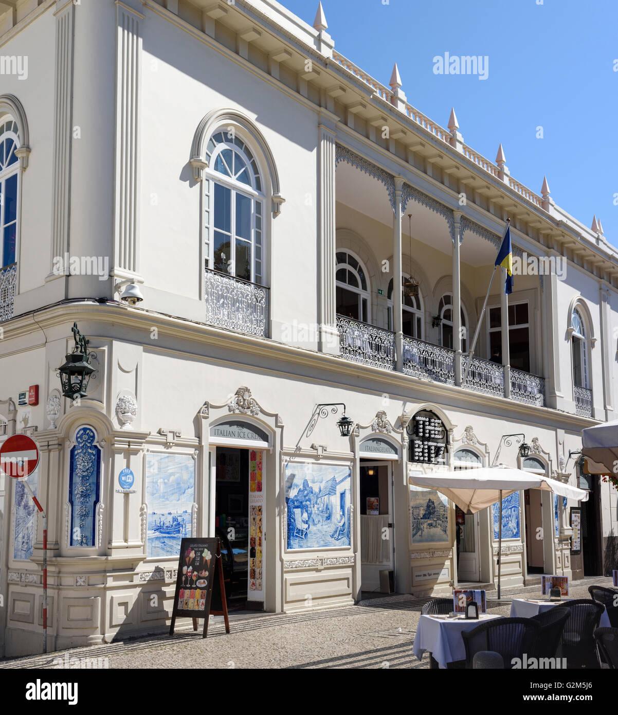 The Ritz Funchal - Stock Image