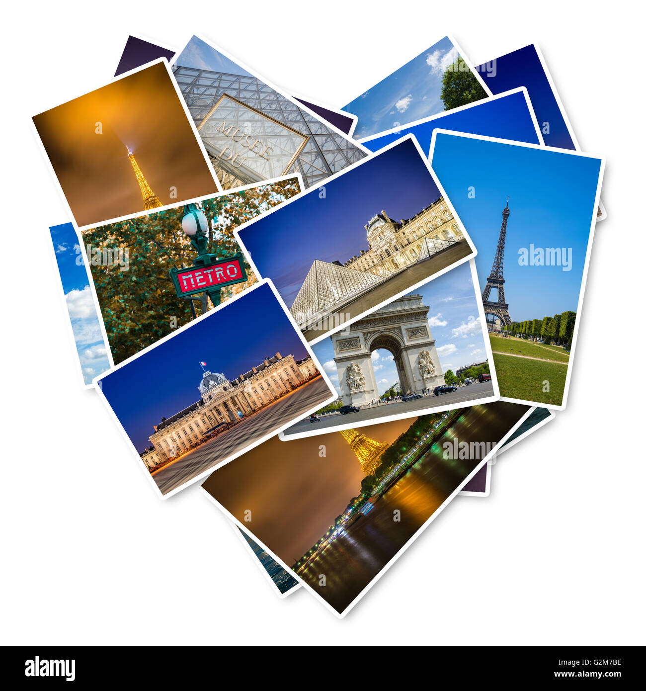 PARIS - JULY 12, 2013: Eiffel Tower on July 12, 2013 in Paris. Eiffel tower is one the most popular attractions - Stock Image