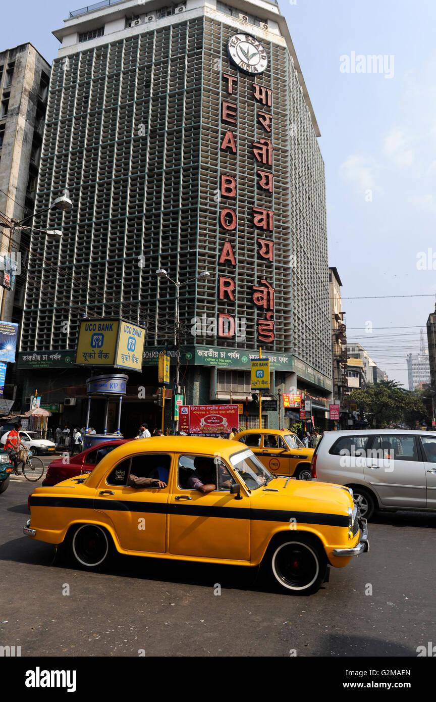 INDIA Westbengal, Kolkata, Tea Board, where Darjeeling and Assam tea is traded / INDIEN, Westbengalen, Kolkata, - Stock Image
