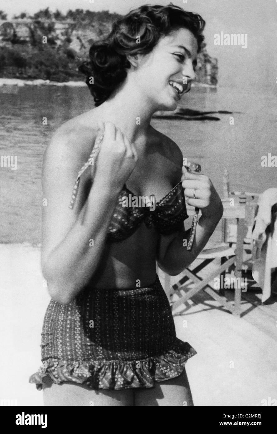 ira von furstemberg,1955 - Stock Image