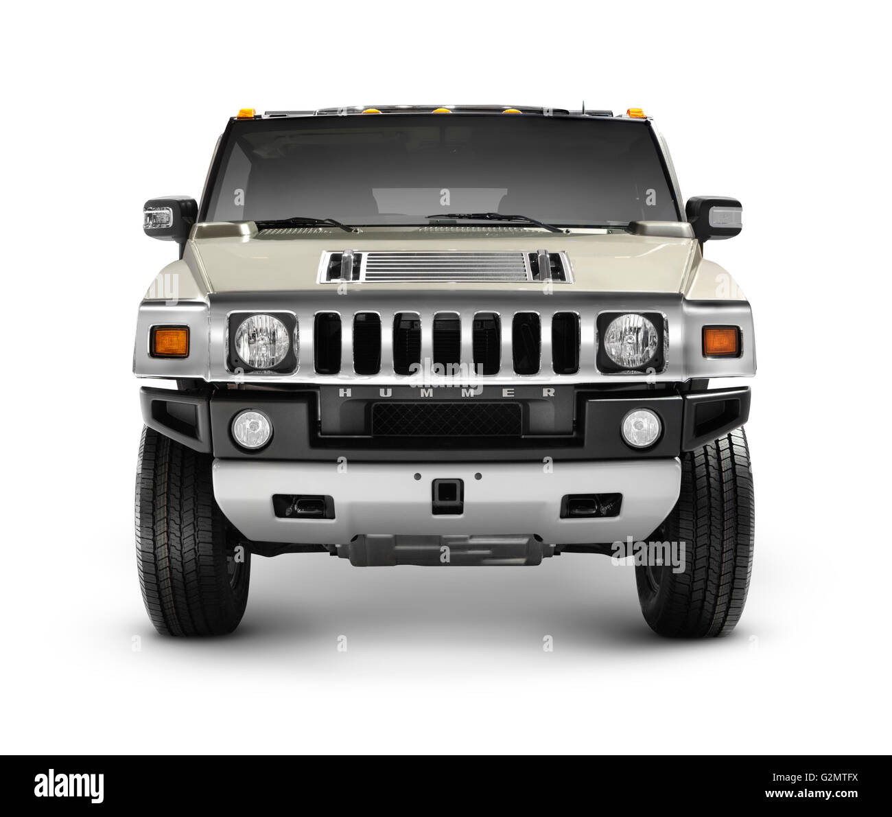 Hummer H2 full-size SUV - Stock Image