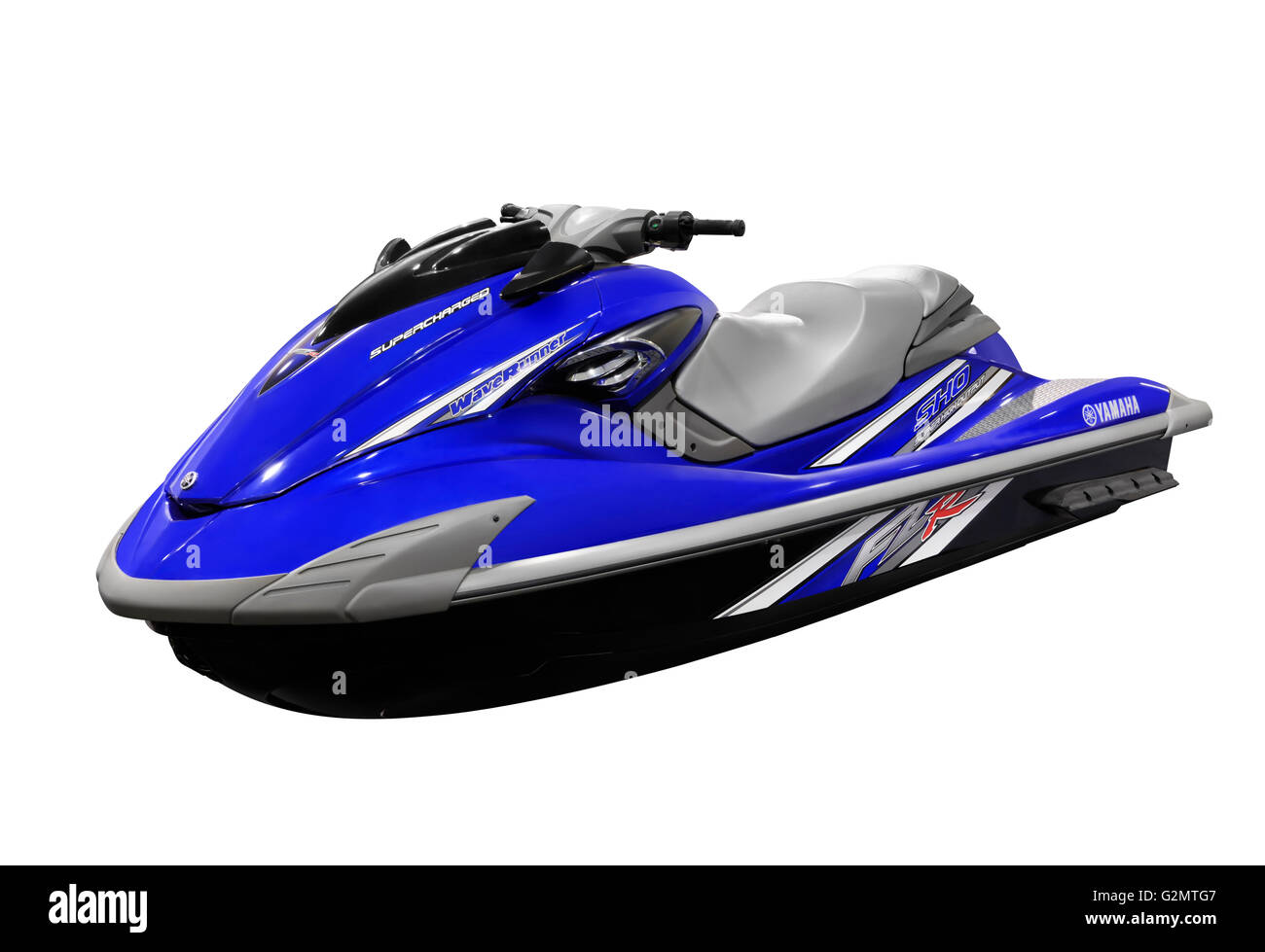 Yamaha waverunner sho supercharged personal water craft for Yamaha jet ski waverunner